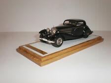 1/43 1/43 1936 Mercedes Benz 540K (W29) Coupe Sindelfingen Blue Handmade by EMC