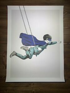 """""""Real Hero"""" By Karl Read Art Print Poster Superboy Dreamer Graffiti Obey Giant"""