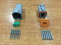 Deutsch DT 6-Way 6 Pin Electrical Connector Plug Kit