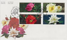 CANADA #1911-1914 47¢ ROSES FIRST DAY COVER