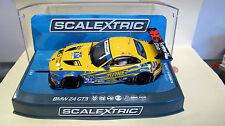 """Scalextric  BMW Z4 GT3  #97  """" 24hr Daytona 2015 """" Ref. C3720 NEU"""