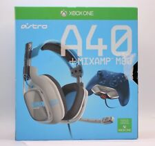 Astro A40 HEADSET + MIXAMP M80 Light Blue Headsets for Microsoft Xbox One