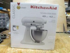 Kitchenaid Stand Mixer 4.5-qt White   ( LOT 15887)