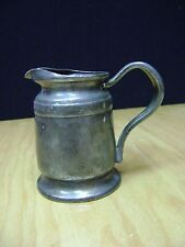 WWII Reed & Barton Silver Soldered Plate Pitcher 2800 8OZ