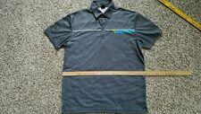 Sligo Golf Tennis or Activewear Shirt XL Gray White Blue Green 100% Polyester