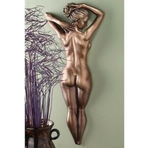 Design Toscano Timeless Beauty Wall Sculpture Naked Lady Wall art