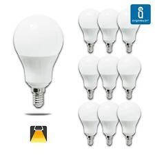 Aigostar - Pack de 10 Bombillas LED A5 A60 E14, 7W,  490 Lumen,luz calida