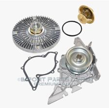 Water Pump + Fan Clutch + Thermostat Kit Audi Volkswagen Passat A4 A6 A6 Quattro