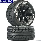 Duratrax C3544 Bandito 2.8 St Tires C2 Mounted Black 1/2in Offset 12mm Hub (2)