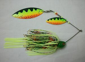 3 LARGE MUSKIE SPINNERBAIT HEADS   1.5 oz wire form TW4045 UNPAINTED