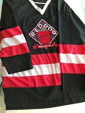 Vintage Red Dog Logo Hockey Jersey