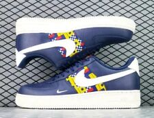 58efad5db6 Nike Air Force1 '07 LV8 Shoes Nautical Blue Yellow Red AR5394-400 Men's NEW