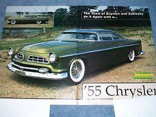 1955 Chrysler Windsor Custom Led Sled Article