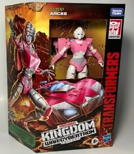 Transformers Generations Kingdom Wfc Autobot Arcee Deluxe 5in Figure In Stock