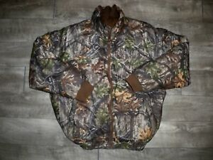 Trail Tech Reversible Puffer Puffy Camo Camouflage Hunting Coat Jacket Size XXL