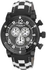 Akribos XXIV Men's AK612BK Explorer Swiss Chronograph Stainless Steel Watch wit