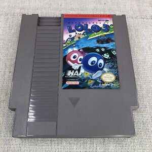 Adventures of Lolo 3 (Nintendo Entertainment System, 1991) - Authentic Tested