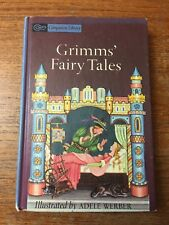 Grimm's Fairy Tales Companion Library Brothers Grimm 1970 Adele Werber HC