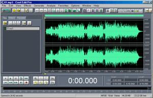 Cool Edit Pro 2.1 Digital Audio WorkStation Editor