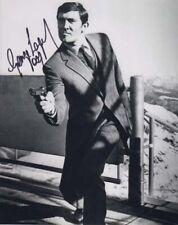 GEORGE LAZENBY 007 JAMES BOND  OFFICIAL SIGNED AUTOGRAPH CLASSIC BOND POSE