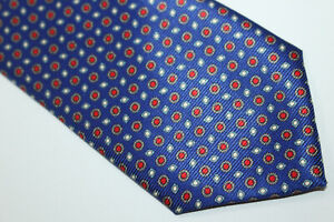 GIANNI CAMPAGNA Silk tie Made in Italy F6796