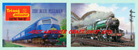 Triang Hornby Railways The Blue Pullman & Flying Scotsman 1964 A3 Size Posters