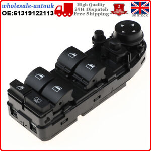 FOR BMW 5 Series E60 E61 Electric Window (FRONT/RH) Power Master Switch NEW