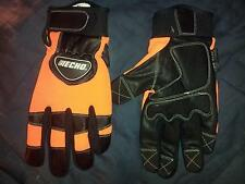 Chainsaw Safety XX-Large Echo Gloves Kevlar Lined Vibration Reducing Gloves