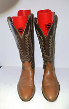 Mens BROWN UNBRANDED COWBOY WESTERN BOOTS SIZE 12 D