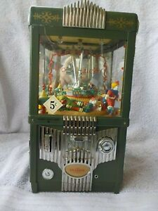 Vintage ENESCO Music Box Grabber Mulit Action Lights Bank No Power Cord The Claw