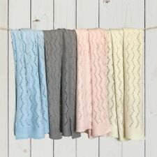 Ravelry Knitted Baby Blanket