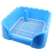 New Portable Pet Dog Cat Toilet Tray with Column Urinal Bowl Pee Training Toilet