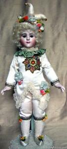 "Francois Gaultier porcelain boy doll ""Jester"" by Emily Hart & Mary Lambeth"