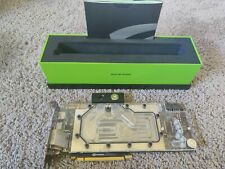 NVIDIA Geforce GTX Titan X Pascal 12GB-con EK WATERBLOCK