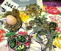 1 Lot Dazzling Vintage Brooches-- FAB!!! - Danielle's Door- - Brooches