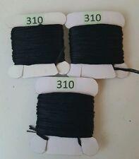 3 x 8 metres DMC Threads BLACK 310