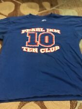 Vintage Pearl Jam Mookie Ten Club Tee Shirt