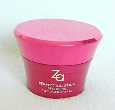 SHISEIDO ZA PERFECT SOLUTION RESTORING COLLAGEN CREAM WRINKLE HYDRATING MOISTURE