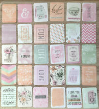 """Project Life Cards Becky Higgins Charming Edition 46 Karten 3x4"""""""