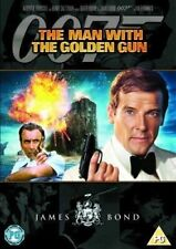 THE MAN WITH THE GOLDEN GUN ROGER MOORE MGM UK REGION 2 DVD 2007 NEW & SEALED