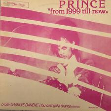 "Prince/Charlye Danene 'From 1999 Till Now' Rare 1984 Dutch Promo Vinyl 12"""