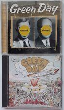 Green Day 2 CD Lot Nimrod & Dookie Pop Punk Rock Longview She Reprise Records