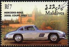 1953 MERCEDES-BENZ 300SL Coupe Mint Automobile Car Stamp (2001 Maldives)
