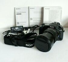 SONY Cybershot DSC-RX10 Mark M2 II 20.2MP 24mm-200mm Zoom Camera Black 4K Video!
