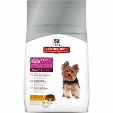 Hill's Science Diet Adult Small and Toy Breed Dry Dog Food, 4.5-Pound Bag, New
