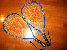 Wilson Slammer Racquetball Racquet -  2 Racquets included in order