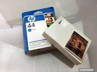Original HP 51644CE Patrone Cyan Nr.44 Tinte Farbe für DesignJet 755CM, 750C NEU
