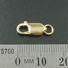 BRAND NEW 18ct Yellow Gold 750 - 13mm Parrot Clasp for anklets chains bracelets