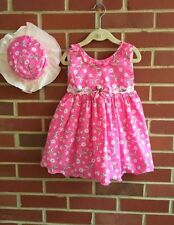 Handmade Girls' Sleeveless Dresses (Newborn-5T)