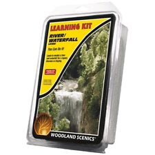 Woodland Scenics LK955 River/Waterfall Learning Kit Model Terrain Material